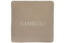 "Hamburg cushion ""Hamburg"", cream"