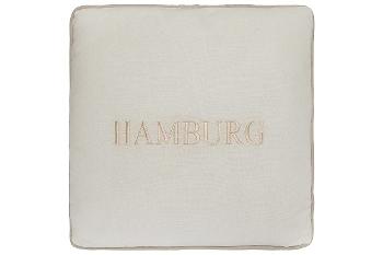 """Hamburg cushion """"Hamburg"""", white"""