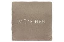 "München cushion ""München"", cream"