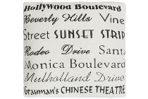 "cushion ""Hollywood Boulevard"""
