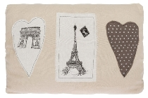 "Paris cushion ""Paris Love"""