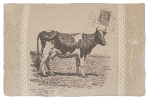 "cushion ""Cow"", rectangular"