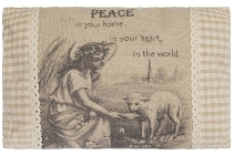 "cushion ""Peace"", rectangular"