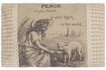 "cushion ""Peace"", rectangular"