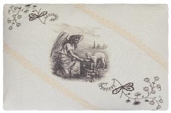"""cushion """"Farmer's Girl"""", rectangular"""