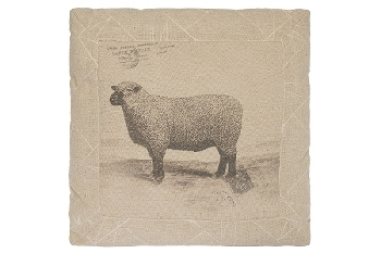 "cushion ""Sheep"", square"