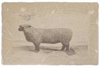 """cushion """"Sheep"""", rectangular"""
