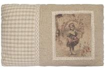 """cushion """"Romance"""", rectangular"""