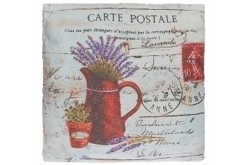 "cushion ""Carte Postale"""