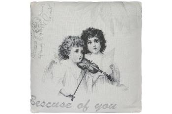 "cushion ""Violin Girls"""