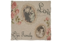 "cushion ""Love our Family"""