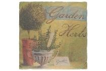 """cushion """"Garden Herbs"""""""