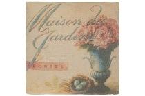 """cushion """"Maison des Jardins"""""""