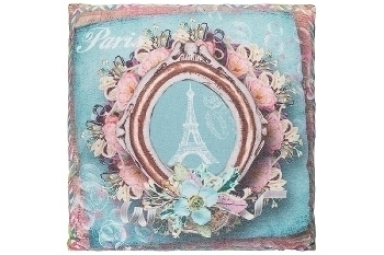 "cushion ""Pink Paris"""