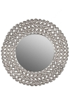 "metal mirror Blumen Ornament ""Dalia"""