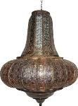 "oriental lamp metal ornamente ""Uriel"""
