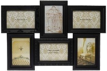 "plastic picture frame ""Yliana"", black"