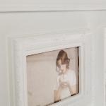 "Family picture frame ""Bjelle"", white"