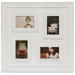 "Family picture frame ""Bjelle"", white"