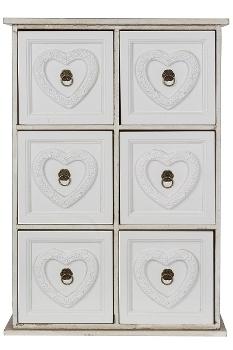 "mini side board ""Eno"", 6 drawers"