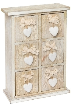 "mini side board ""Lenni"", 6 drawers"