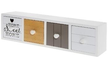 Mini sideboard with 4 drawers