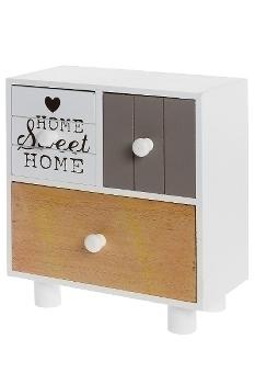 Mini sideboard with 3 drawers
