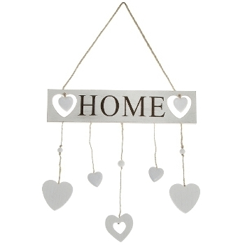 Decoration Lettering HOME - cream