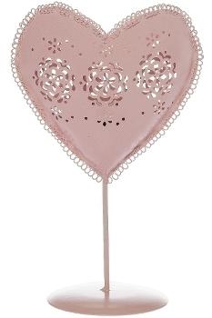 "heart tealight holder ""Ronja"""