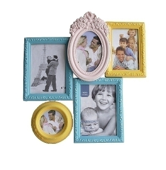 "colourful family frame (5 photos) ""Soley"""
