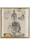 "canvas picture Buddha ""Buddha Relax"""