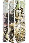 "Holzwandbild Buddha Motiv ""Buddha Calm"""