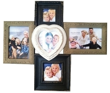 "Family picture frame ""Helena"", multicoloured"