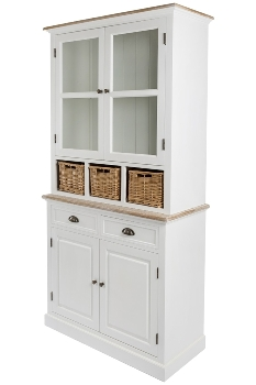 "sideboard ""Toscana"", with rattan baskets"