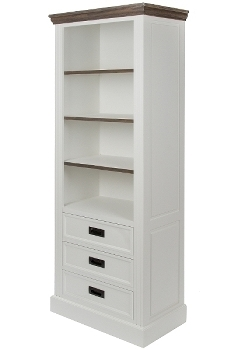 "bookcase ""Rita"", with 3 drawers"