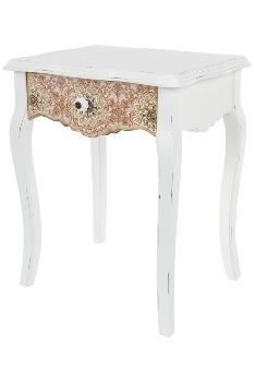"side table ""Paisley"", with drawer"