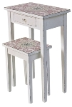 "side table ""Paisley"", set of 3"