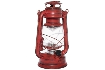 "LED lantern ""Teje"", big, red antique"