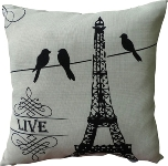 "cushion with filling ""Live"""