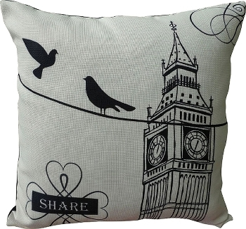 "cushion with filling ""Share"""