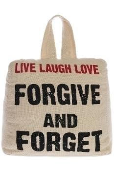 "doorstopper ""Live Laugh Love"""