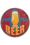 """metal plate """"Beer"""""""