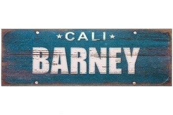"wooden plate ""Barney"""