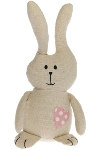 "doorstopper bunny ""Lea"", grey"