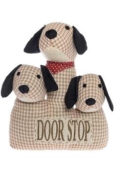"""doorstopper 3 - headed dog """"Fluffy"""""""