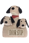 "doorstopper 3 - headed dog ""Fluffy"""