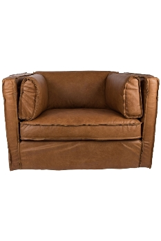 San Diego Leather Armchair