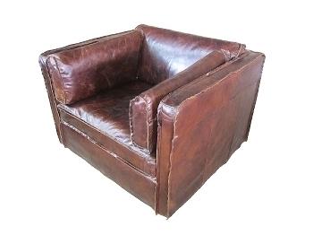 San Diego Leather Armchair