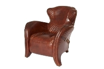 Texas Leather Armchair
