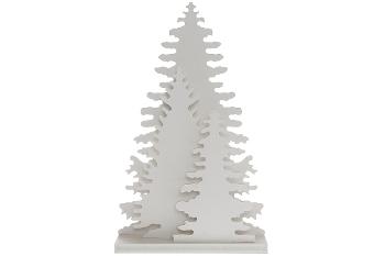 15.5*4.5*25cm+12L warm white led white wood